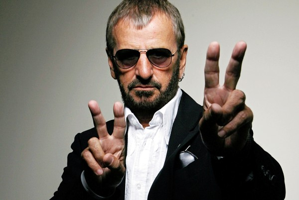 Musician Ringo Starr poses for a photo in Beverly Hills, Calif., Tuesday, June 12, 2007. (AP Photo/Damian Dovarganes)