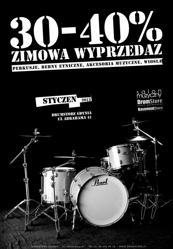 drumstore wyprzedaz styczen 2013jpg