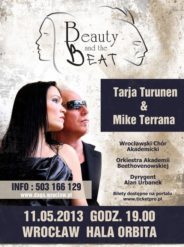 Beauty and the Beat Tarja Turunen Mike Terrana