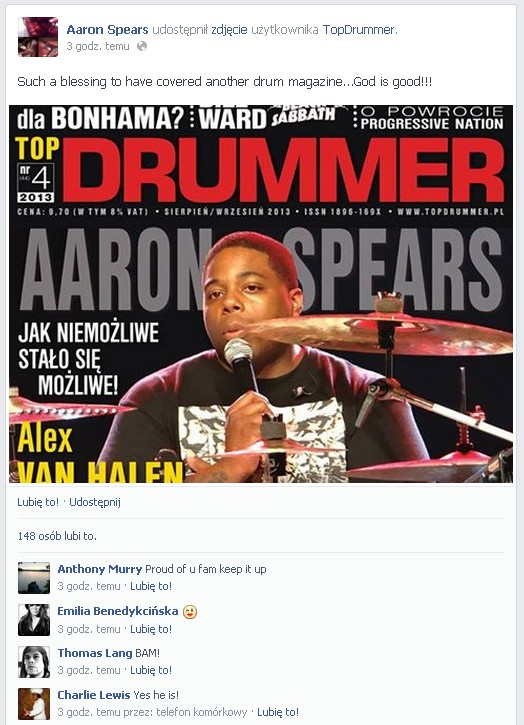 aaron spears facebook