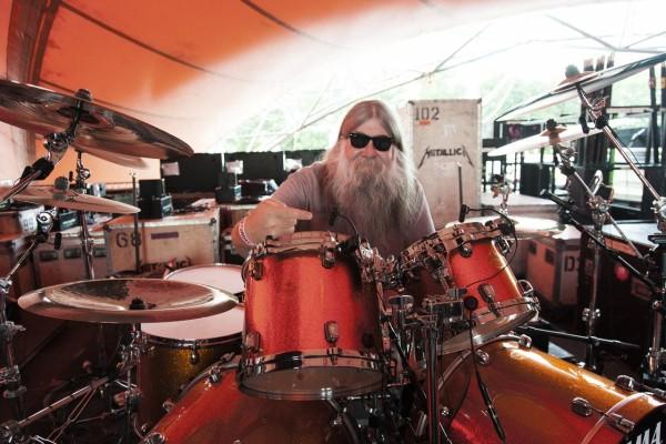 Big Mick Lars Ulrichs drums