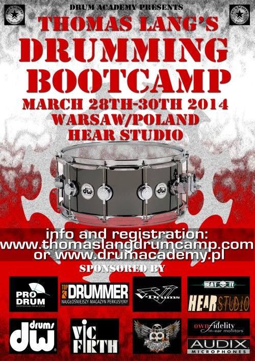 Thomas Lang Drumming BootCamp 2014