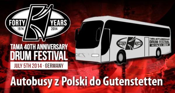Autobusy Tama Drum Festival