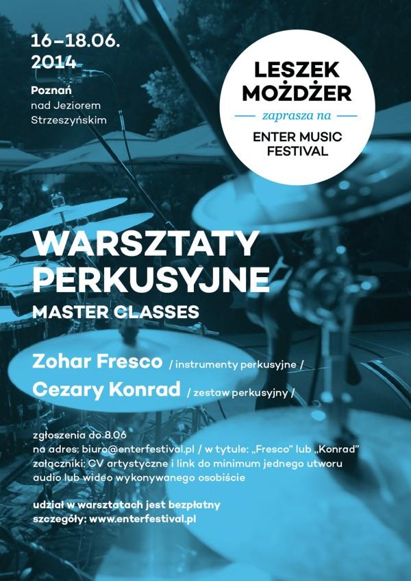 enter music festival warsztaty 2014