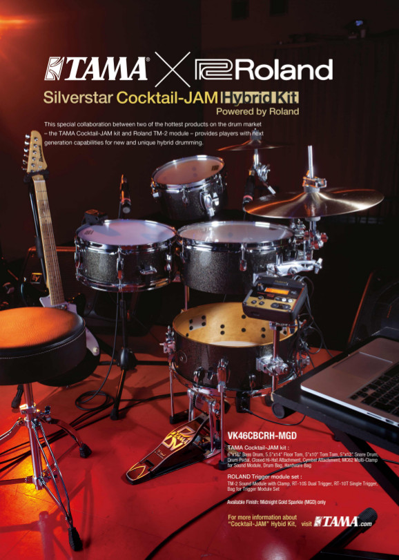 TAMA Cocktail-Jam Hybrid kit