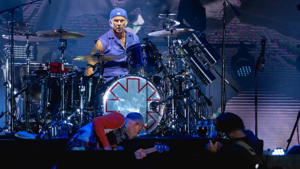 Red Hot Chili Peppers podczas Ohana Festival 2019, fot. Raph_PH, CC BY 2.0, Wikimedia Commons